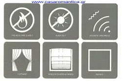 FIRE RESISTANT, BLACK OUT,ACOUSTIC ABSORBING