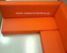Μαξιλάρια χτιστού ή ξύλινου καναπέ