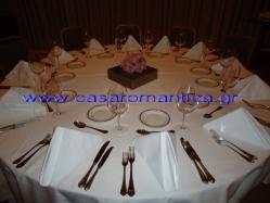 Τραπεζομάντηλα, Ροτόντες, Ναπερόν, Πετσέτες Φαγητού